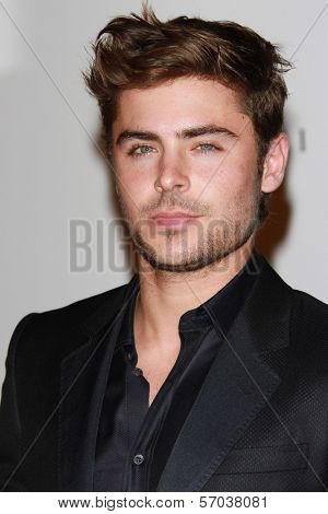 Zac Efron at the LACMA Art + Film Gala Honoring Clint Eastwood and John Baldessari, LACMA, Los Angeles, CA 11-05-11