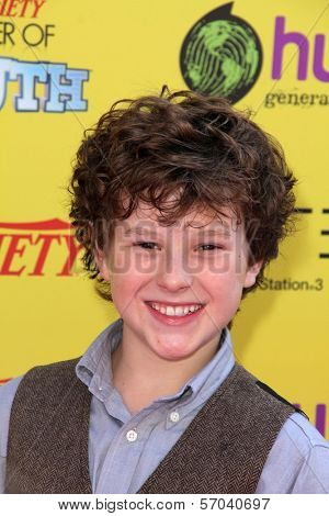 Nolan Gould at Variety's 5th Annual Power Of Youth Event, Paramount Studios, Hollywood, CA 10-22-11