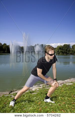 Working Out In The Park