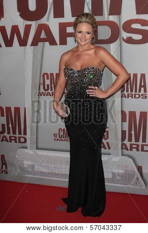 Miranda Lambert at the 2011 CMA Awards, Bridgestone Arena, Nashville, TN 11-09-11