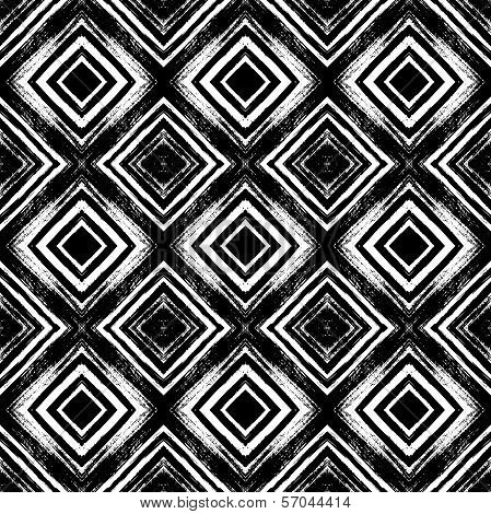 Vintage seamless pattern with brushed lines