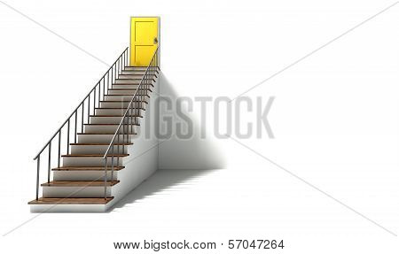 Stairway To Yellow Door