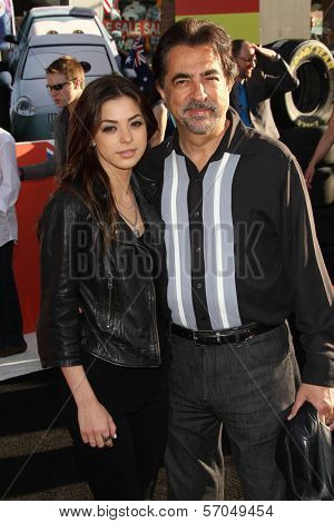 Gia Mantegna, Joe Mantegna at the