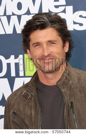 Patrick Dempsey at the 2011 MTV Movie Awards Arrivals, Gibson Amphitheatre, Universal City, CA. 06-05-11