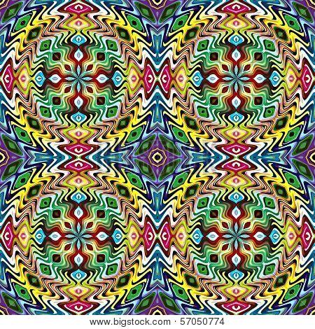 Indian textile pattern
