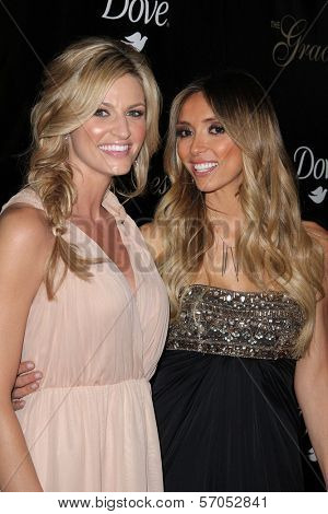 Erin Andrews, Giuliana Rancic at the 36th Annual Gracie Awards Gala, Beverly Hilton Hotel, Beverly Hills, CA. 05-24-11