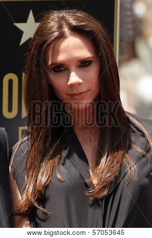 Victoria Beckham at Simon Fuller's induction into the Hollywood Walk of Fame, Hollywood, CA. 05-23-11
