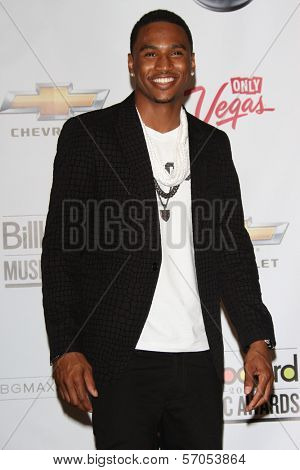 Trey Songz at the 2011 Billboard Music Awards Press Room, MGM Grand Garden Arena, Las Vegas, NV. 05-22-11