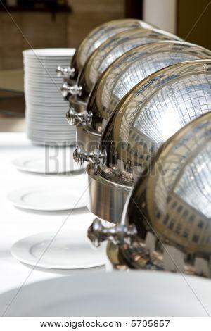 A Closeup Photo Of Dishware