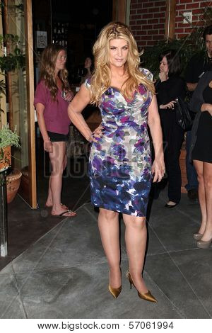 Kirstie Alley at Cheryl Burke's Birthday Celebration, BoHo, Hollywood, CA. 05-02-11