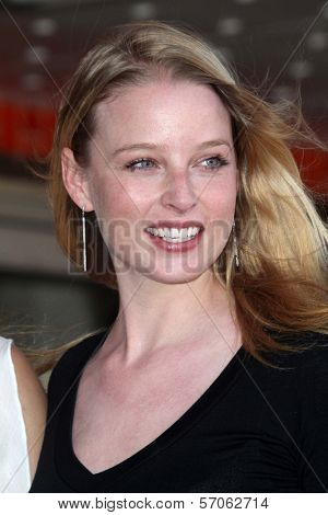 Rachel Nichols at Joe Mantegna's induction into the Hollywood Walk Of Fame, Hollywood, CA, 04-29-11