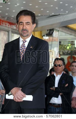 Joe Mantegna, Andy Garcia at Joe Mantegna's induction into the Hollywood Walk Of Fame, Hollywood, CA, 04-29-11