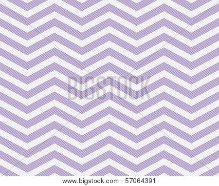 Mauve And White Zigzag Textured Fabric Background