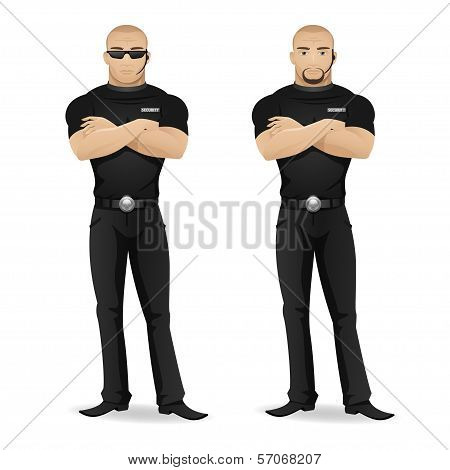?an security guard of nightclub