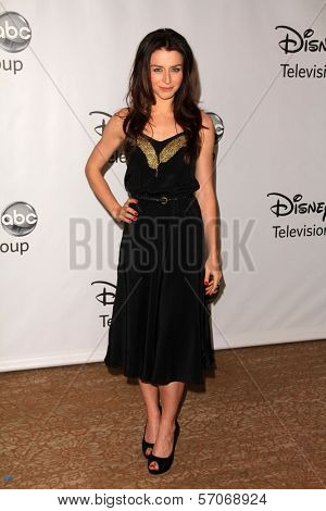 Caterina Scorsone at the Disney ABC Summer Press Tour, Beverly Hilton, Beverly Hills, CA. 08-07-11