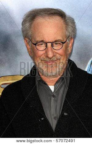 Steven Spielberg at the
