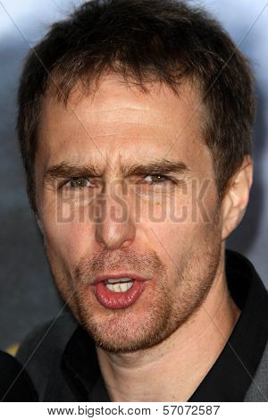Sam Rockwell at the