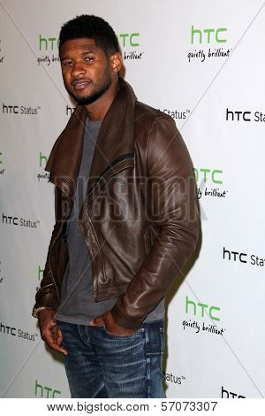 Usher at the HTC Status Social, Paramount Studios, Hollywood, CA. 07-19-11