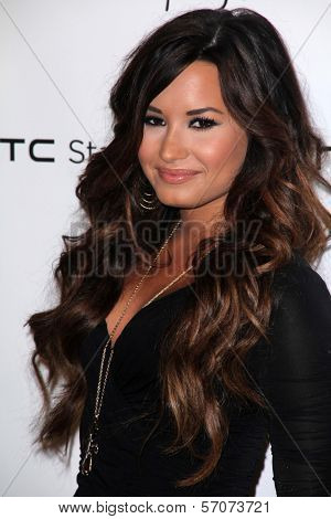 Demi Lovato at the HTC Status Social, Paramount Studios, Hollywood, CA. 07-19-11