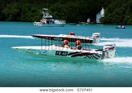 Racing Powerboat