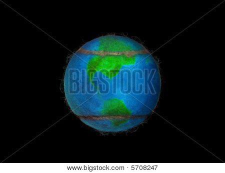 Fleecy Tennis Earth