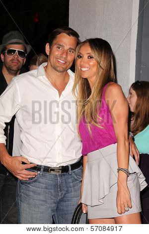 Bill Rancic, Giuliana Rancic at the UK Style By French Connection Launch Party, Lexington Social House, Hollywood, CA. 03-09-11
