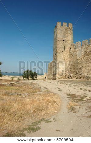 Inside Akkerman Fortress