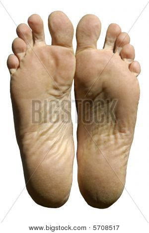 Soles Of Male Feet