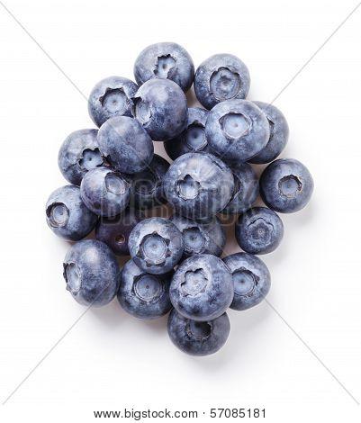 Heap Of Fresh Blueberries