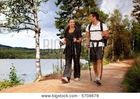Backpack Couple