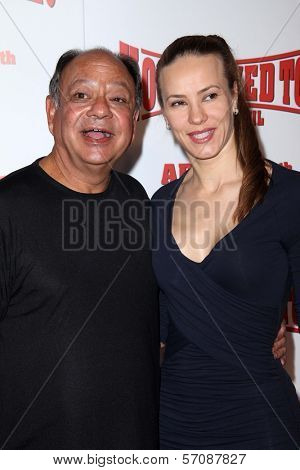 Cheech Marin at the