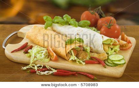 Two Tortilla Wraps