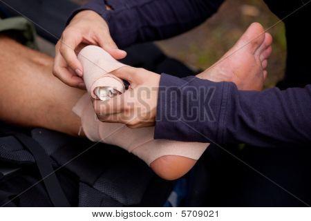 Ankle Tensor Bandage