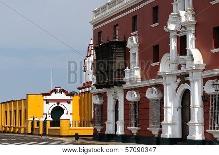 Peru, View On The Trujillo City