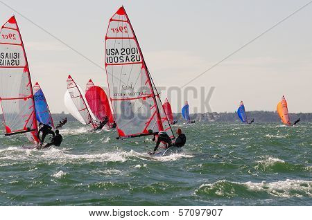 Downwind At The 29Er Nationals