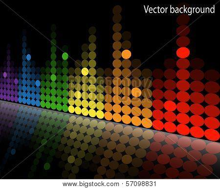 multicolored equalizer