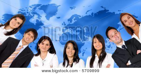 globale Business-Leute