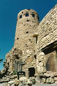 picture of pueblo  - The Watch Tower on the east rim of Arizona - JPG