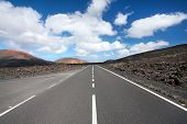 stock photo of canary  - Lanzarote Canary Islands  - JPG
