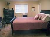 foto of safe haven  - master bedroom with queen bed - JPG