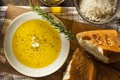 stock photo of dipping  - Italian Bread with Olive Oil for Dipping with Pepper and Cheese - JPG