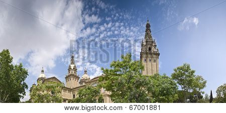 Mnac, Barcelona, Spain