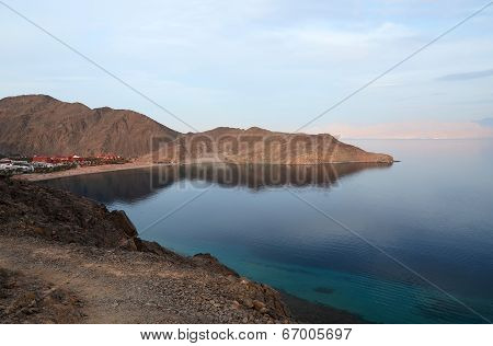 Evening Gulf Of Aqaba