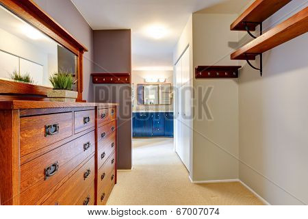Walk-in Closet Interior