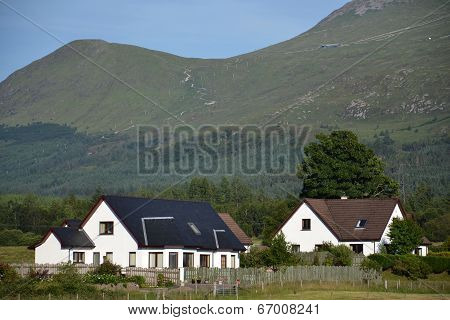 Nevis Range near Fort William, Highlands, Scotland, United Kingdom