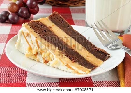 Peanut Butter Brownie Cheesecake