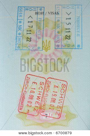 Stamp Passport