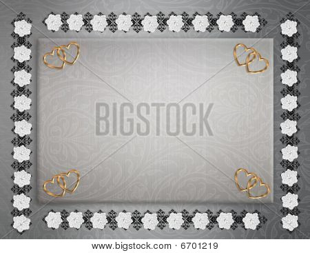 Wedding Invitation Background elegant Stock photo