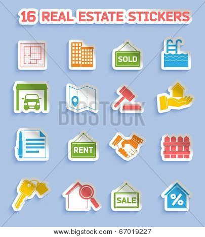 Real estate stickers