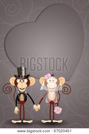 Monkey Just Married